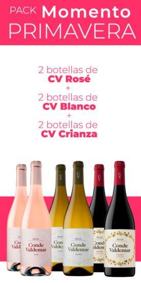 Pack de vinos Primavera Conde Valdemar
