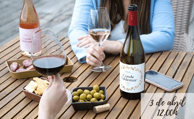 Cata maridada vinos de Rioja