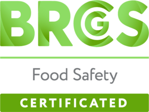 BRCGS CERT FOOD LOGO