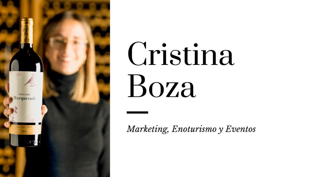 Cristina Boza mi vino favorito