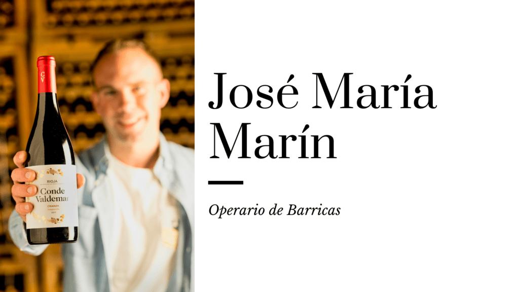 Jose Maria operario de barricas