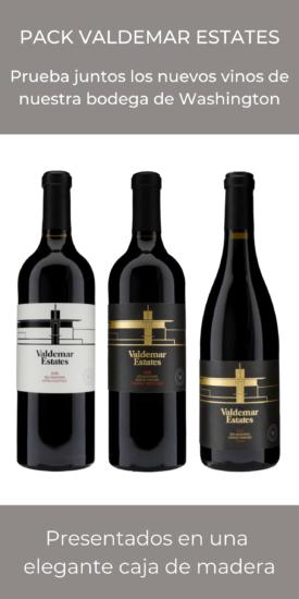 Pack 3 botellas Valdemar Estates
