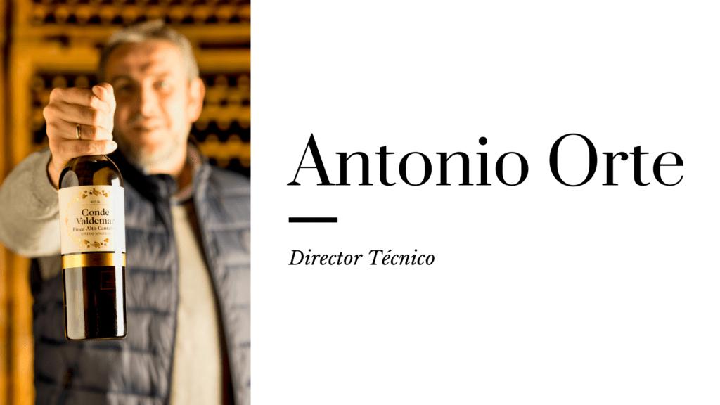 Mi vino favorito Antonio Orte