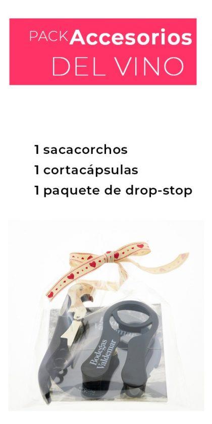 pack accesorios para el vino